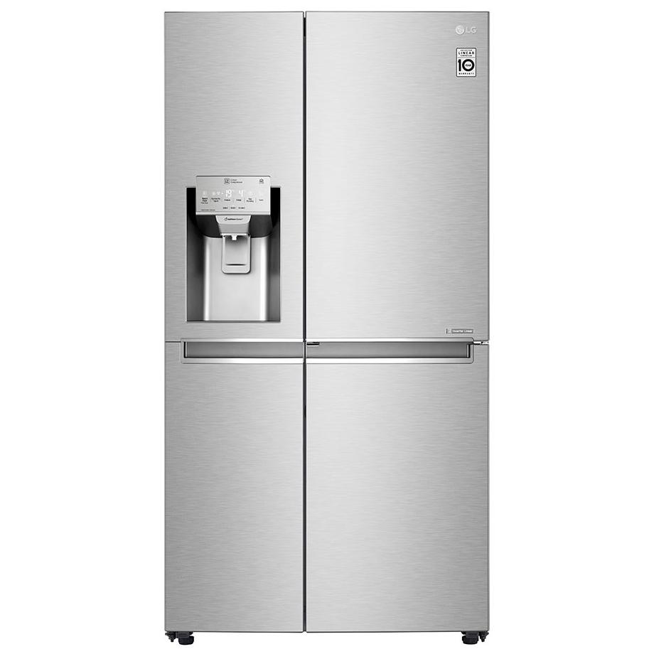 LG GSJ961NSVV - EX DISPLAY Door In Door American Fridge Freezer Non Plumbed - STAINLESS STEEL