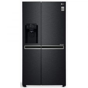 LG GSL761MCXV American Fridge Freezer Non Plumbed Ice & Water – BLACK STEEL