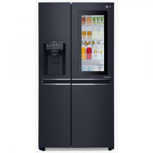 LG GSX961MCVZ Door In Door Instaview American Fridge Freezer Non Plumbed – BLACK STEEL