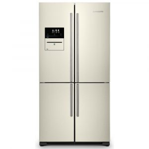Rangemaster RSXS19IV/C French Style Four Door Fridge Freezer With VSeal – IVORY