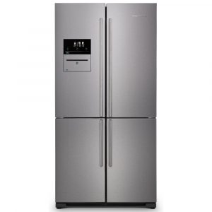 Rangemaster RSXS19SS/C French Style Four Door Fridge Freezer With VSeal – STAINLESS STEEL