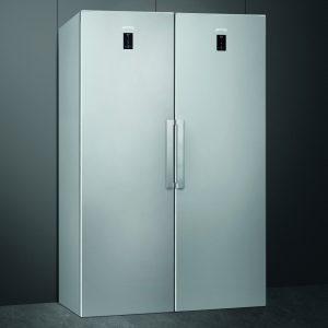Smeg FA402PXNE CV282PXNFE Larder Fridge And Frost Free Freezer Pack – STAINLESS STEEL