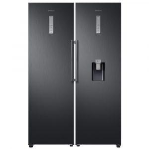 Samsung RR39M7340B1 RZ32M7120B1 Larder Fridge And Frost Free Freezer Pack – BLACK STEEL