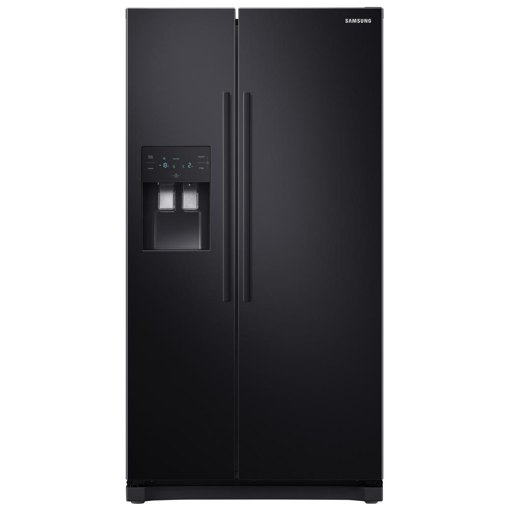 Samsung RS50N3513BC American Fridge Freezer With Ice & Water - BLACK