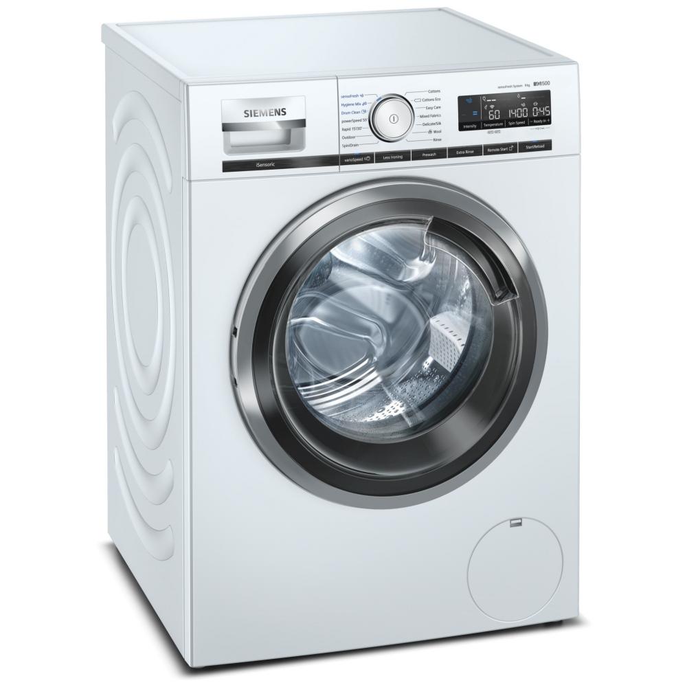siemens wm14vph9gb 9kg iq 500 steam washing machine 1400rpm white appliance city