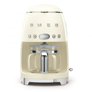 Smeg DCF02CRUK Freestanding Retro Drip Filter Coffee Machine – CREAM