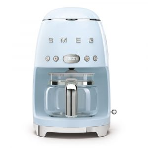 Smeg DCF02PBUK Freestanding Retro Drip Filter Coffee Machine – PASTEL BLUE