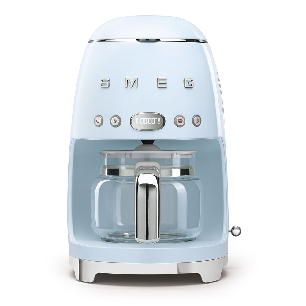 Smeg DCF02PBUK Freestanding Retro Drip Filter Coffee Machine - PASTEL BLUE