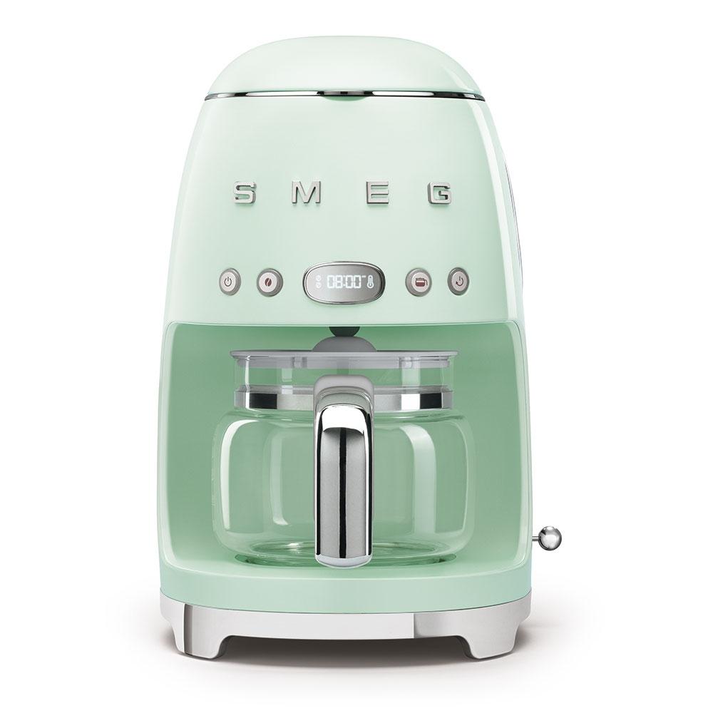 Smeg DCF02PGUK Freestanding Retro Drip Coffee Machine - PASTEL GREEN