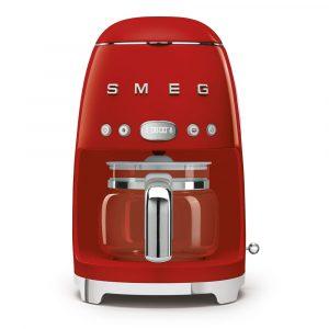 Smeg DCF02RDUK Freestanding Retro Drip Filter Coffee Machine – RED