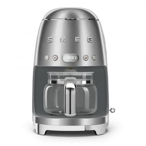 Smeg DCF02SSUK Freestanding Retro Drip Filter Coffee Machine – STAINLESS STEEL