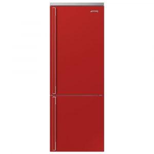 Smeg FA490RR Portofino 70cm Frost Free Fridge Freezer – RED