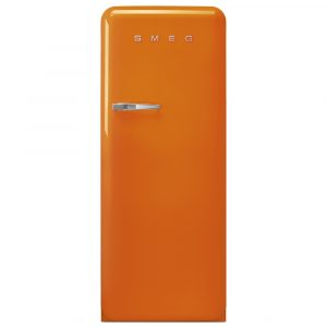 Smeg FAB28ROR3 60cm Retro Refrigerator Right Hand Hinge – ORANGE