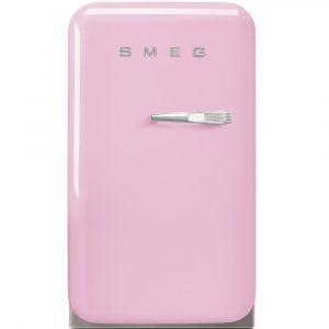 Smeg FAB5LPK Pink Retro Mini Bar Fridge Left Hand Hinge – PINK