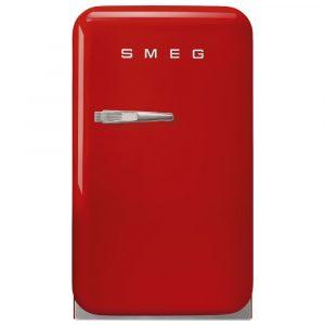 Smeg FAB5RRD3 40cm Retro Mini Bar Fridge Right Hand Hinge – RED