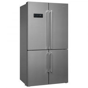 Smeg FQ60X2PEAI American Four Door Fridge Freezer Ice & Water Non Plumbed – STAINLESS STEEL
