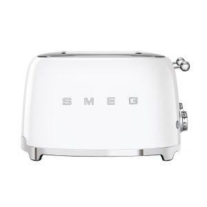 Smeg TSF03WHUK Retro 4 Slice Toaster – WHITE