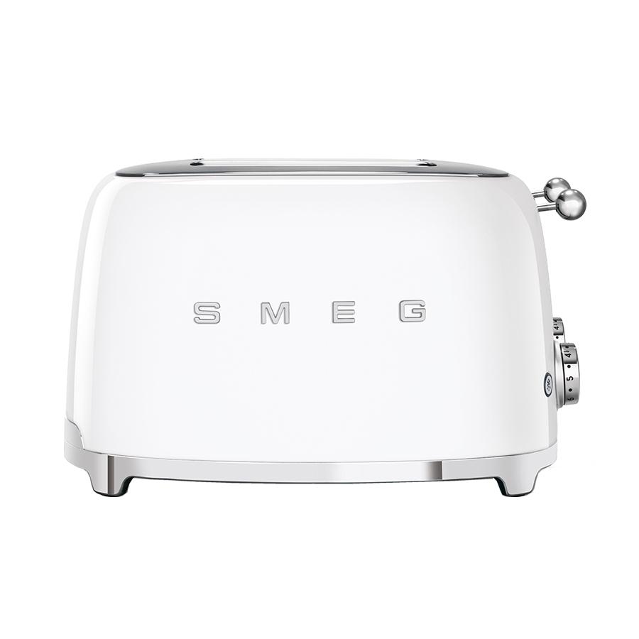 Smeg TSF03WHUK Retro 4 Slice Toaster - WHITE