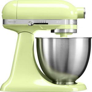 KitchenAid 5KSM3311XBHW Mini Tilt-Head Stand Mixer 3.3 Litre – HONEY DEW