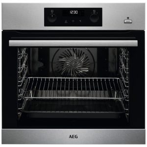 AEG BPS355220M Built In Pyrolytic SteamBake Multifunction Oven – STAINLESS STEEL