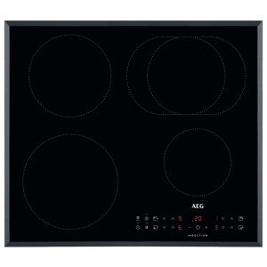 AEG IKB64311FB 60cm 4 Zone Bevelled Edge Induction Hob – BLACK