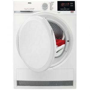 AEG T7DBG840N 8kg Heat Pump Condenser Dryer – WHITE