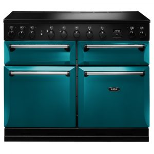 AGA Masterchef MDX110EISAL Masterchef Deluxe 110cm Induction Range Cooker – SALCOMBE BLUE