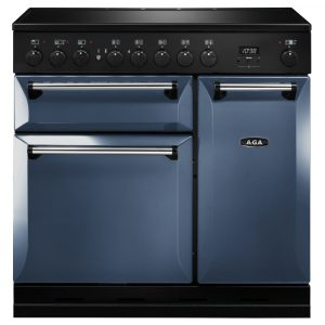 AGA Masterchef MDX90EIDAR Masterchef Deluxe 90cm Induction Range Cooker – DARTMOUTH BLUE