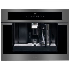 Caple CM465GM Fully Automatic Built In Coffee Machine – GUNMETAL