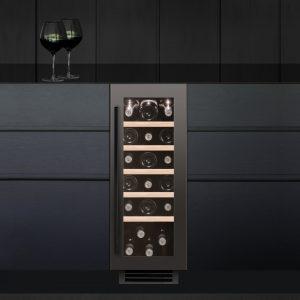 Caple WI3123GM 30cm Undercounter Wine Cooler – GUNMETAL