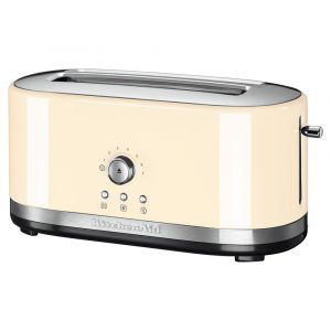 KitchenAid 5KMT4116BAC 4 Slice Long Slot Toaster – ALMOND CREAM