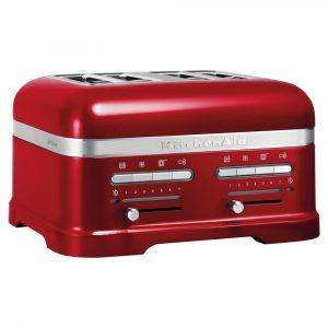 KitchenAid 5KMT4205BCA Artisan 4 Slice Toaster – CANDY APPLE