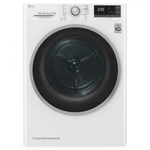 LG FDJ608W 8kg Heat Pump Condenser Dryer – WHITE