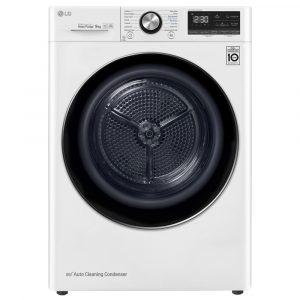 LG FDV909W 9kg Heat Pump Condenser Tumble Dryer – WHITE
