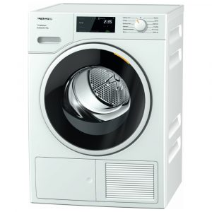 Miele TSF643WP 8kg Heat Pump Condenser Dryer – WHITE