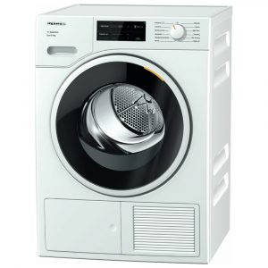 Miele TSJ663WP 9kg Heat Pump Condenser Tumble Dryer – WHITE