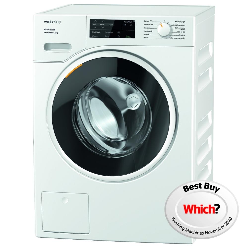 Miele WSG363 9kg W1 PowerWash Washing Machine 1400rpm - WHITE
