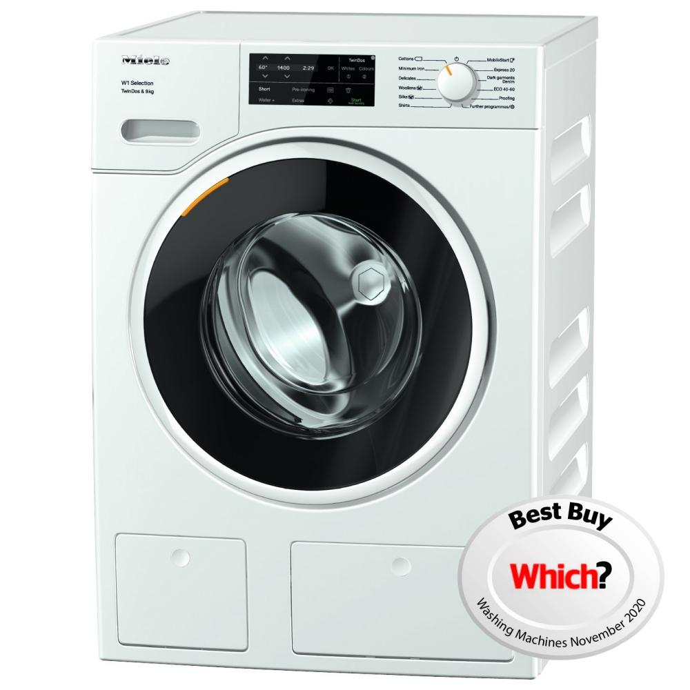 Miele WSG663 9kg W1 TwinDos Washing Machine 1400rpm - WHITE