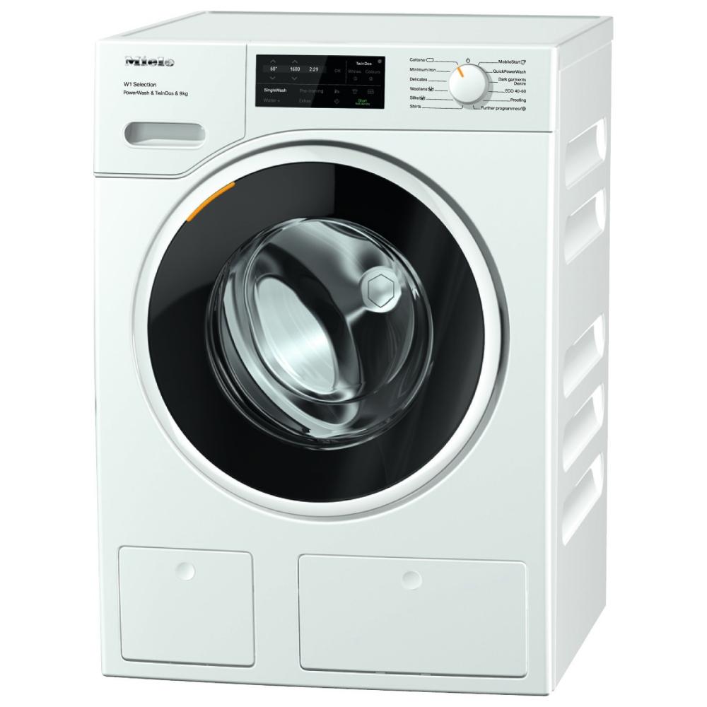 Miele WSI863 9kg W1 TwinDos PowerWash Washing Machine 1600rpm - WHITE
