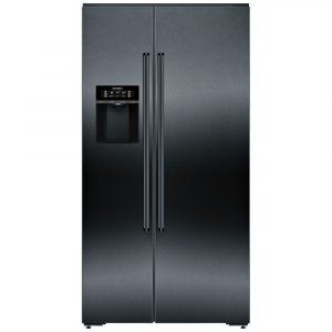 Siemens KA92DHXFP IQ-700 American Fridge Freezer Ice & Water – BLACK STEEL