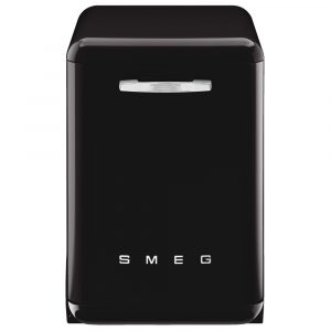 Smeg DF13FAB3BL 50s Style Freestanding Retro Dishwasher – BLACK
