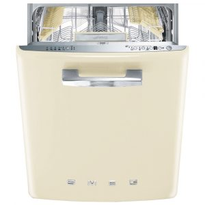 Smeg DI13FAB3CR Integrated Retro Style Dishwasher – CREAM