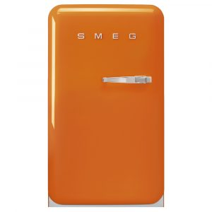 Smeg FAB10LOR2 55cm Retro Refrigerator Left Hand Hinge – ORANGE