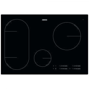 Zanussi ZIL8470CB 78cm Frameless Induction Hob – BLACK