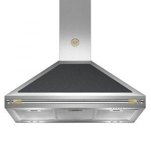 Bertazzoni K90-HER-NE-A 90cm Heritage Series Cooker Hood – BLACK
