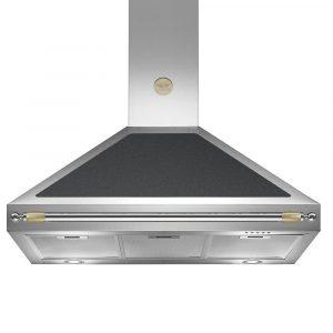 Bertazzoni K100-HER-NE-A 100cm Heritage Series Cooker Hood – BLACK