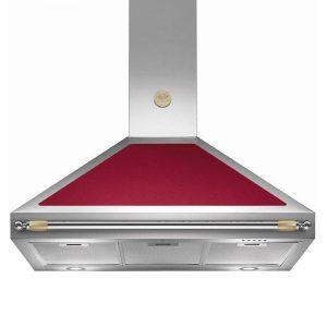 Bertazzoni K100-HER-VI-A 100cm Heritage Series Cooker Hood – BURGUNDY