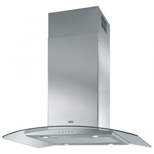 Franke FGC925IXSNP 90cm Curved Glass Island Hood – STAINLESS STEEL
