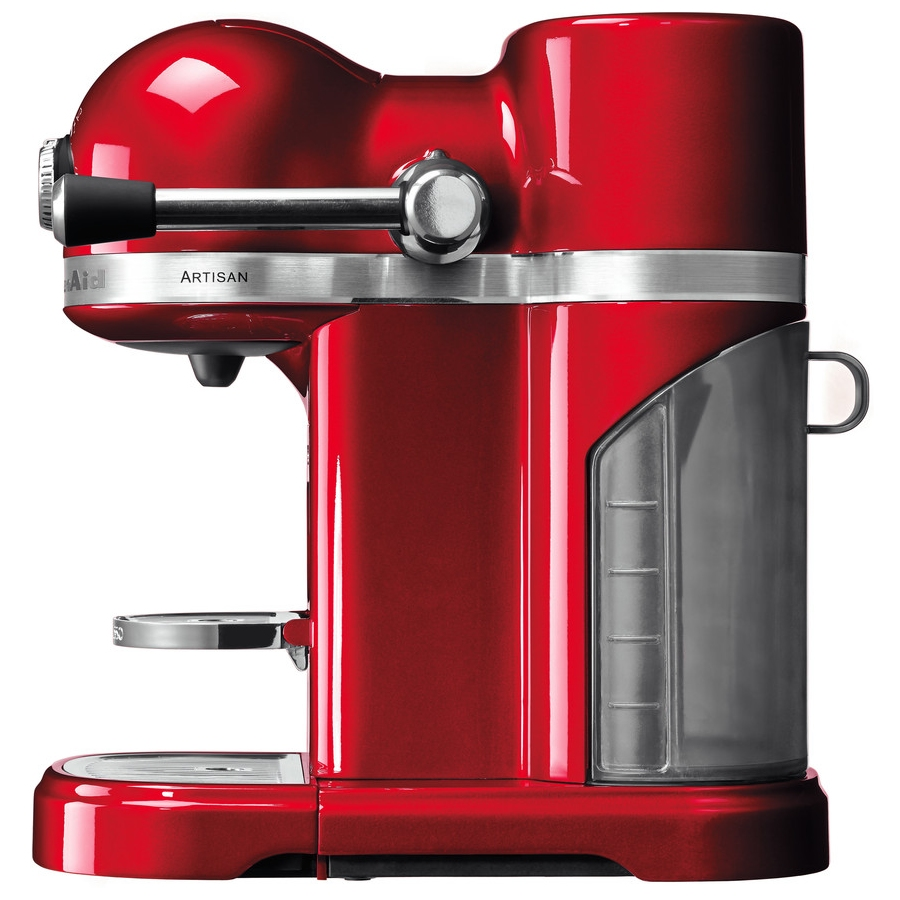 Kitchenaid 5kes0503ber1 Freestanding Artisan Nespresso Coffee Machine Empire Red