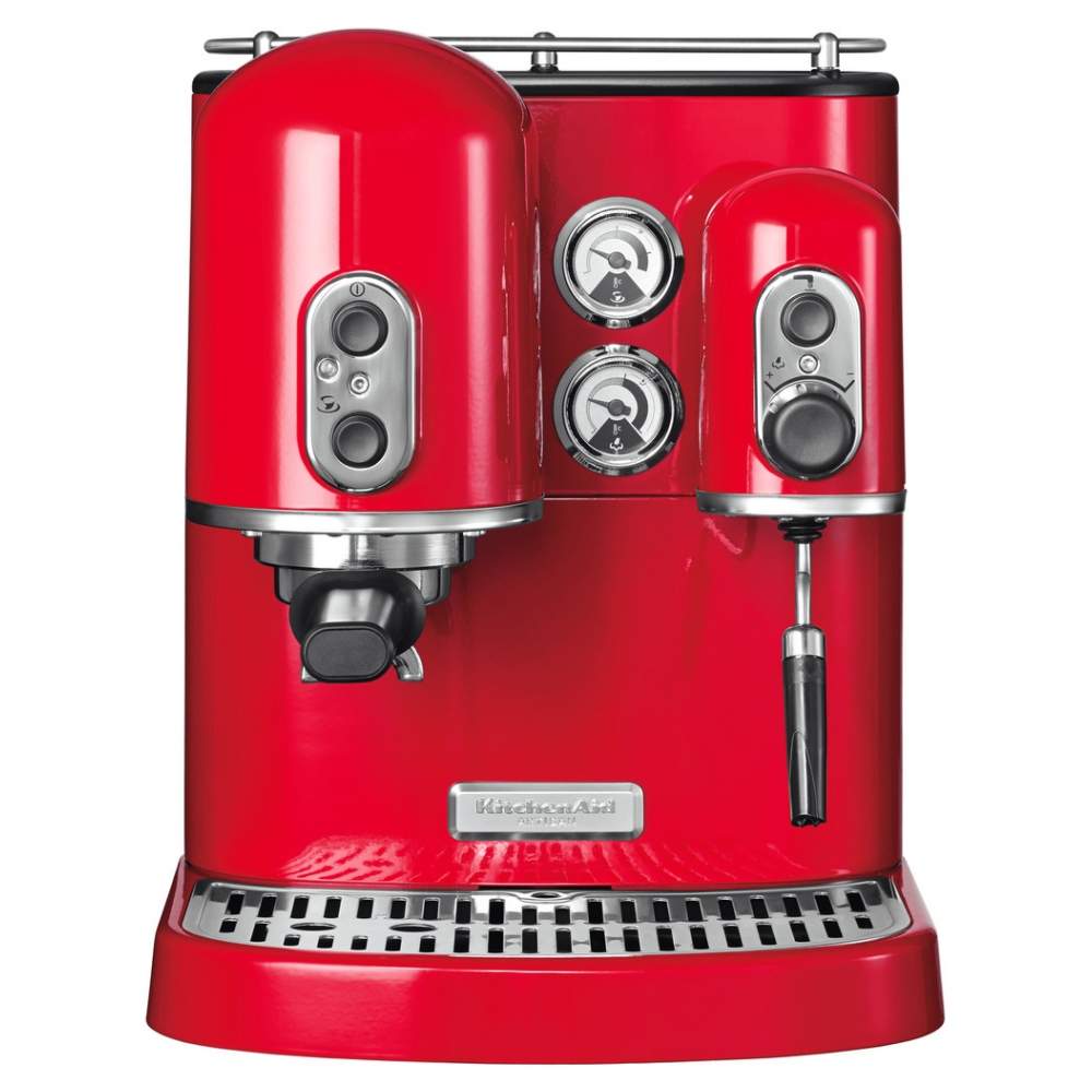 Kitchenaid 5kes2102ber Freestanding Artisan Espresso Coffee Machine Empire Red